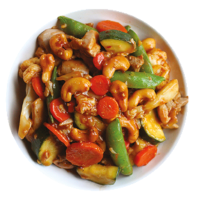 Foto Cashew Chicken