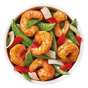 Foto Pearl river chili shrimp
