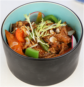 Foto Thai red curry beef